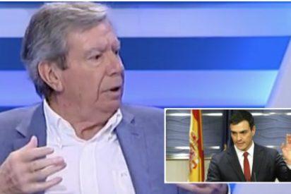 """Corcuera: """"Tengo que contenerme para no faltar al respeto a Pedro Sánchez"""""""