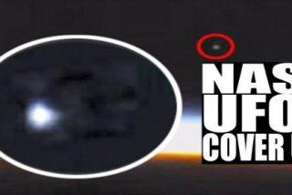 Así corta la NASA el vídeo de un OVNI gigante entrando en la atmósfera
