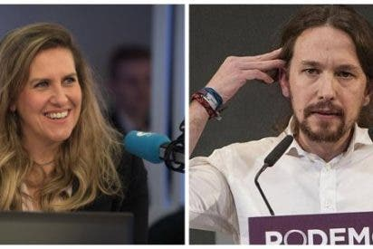 """Cristina López Schlichting (COPE) a Pablo Iglesias: """"Sinvergüenza, eres un sinvergüenza"""""""