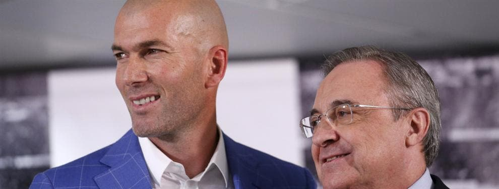 Cumbre secreta de Florentino con Zidane para cerrar los fichajes