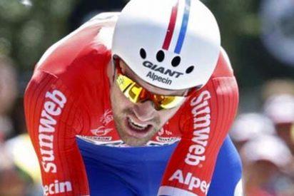 Dumoulin vence con rotundidad la crono y Froome refuerza su maillot amarillo