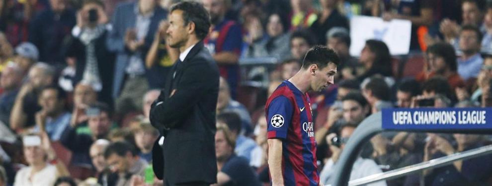 El Barça se pondrá serio con Leo Messi la próxima temporada