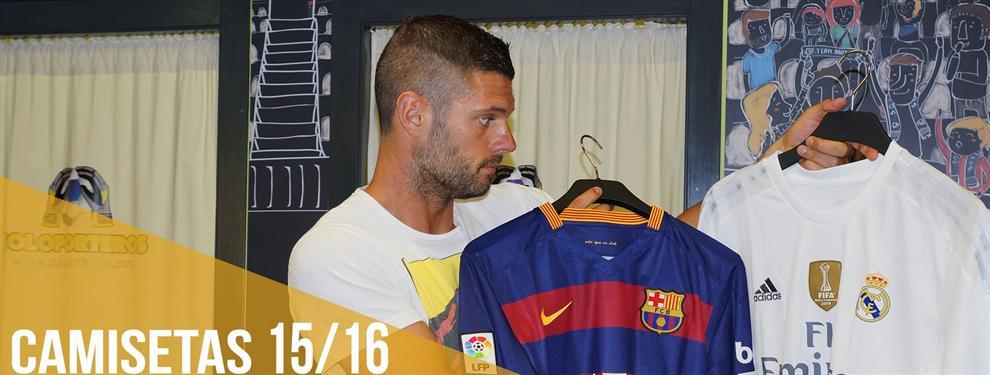 ¡El clásico de las camisetas! ¿Quién vende más? ¿Barça o Real Madrid?