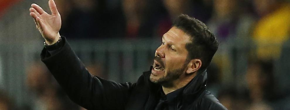 El delantero que veta y el que elige Diego Simeone