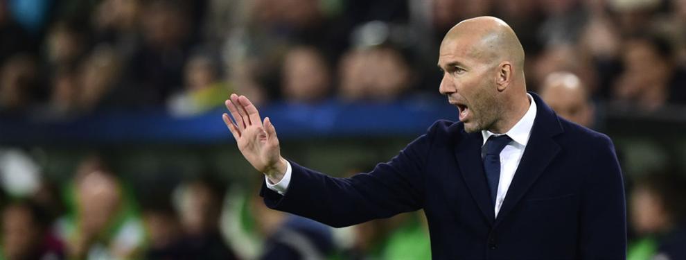 El jugador en la lista negra de Zidane para el Real Madrid