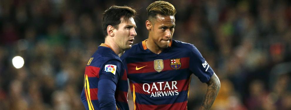 El nuevo contrato de Neymar levanta ampollas en el entorno de Leo Messi