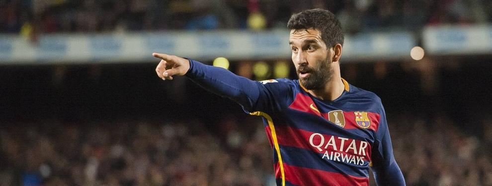 El Real Madrid puede abrirle a Arda Turan la puerta de salida del Barça
