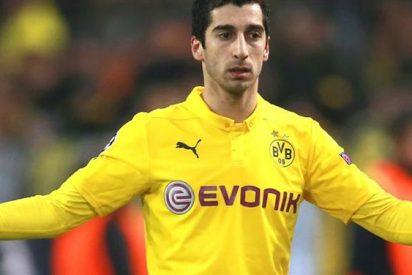 El rencoroso mensaje del Borussia Dortmund con Mkhitaryan