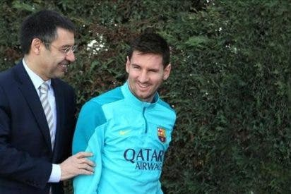 El último ?peloteo? de Bartomeu a Messi no le sale como a él quería