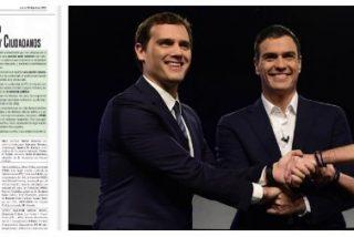 El País propone ahora un apaño de Gobierno con PSOE, Podemos y C'S