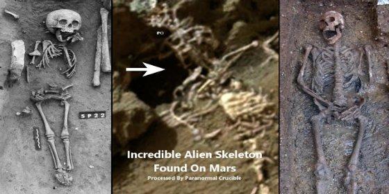 El 'rover' Curiosity encuentra en Marte el 'esqueleto de un rey'