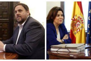 Luis Ventoso exige al Gobierno que se espabile: ¿Qué hacían Soraya y Montoro de café-risitas con un paladín del separatismo como Junqueras?