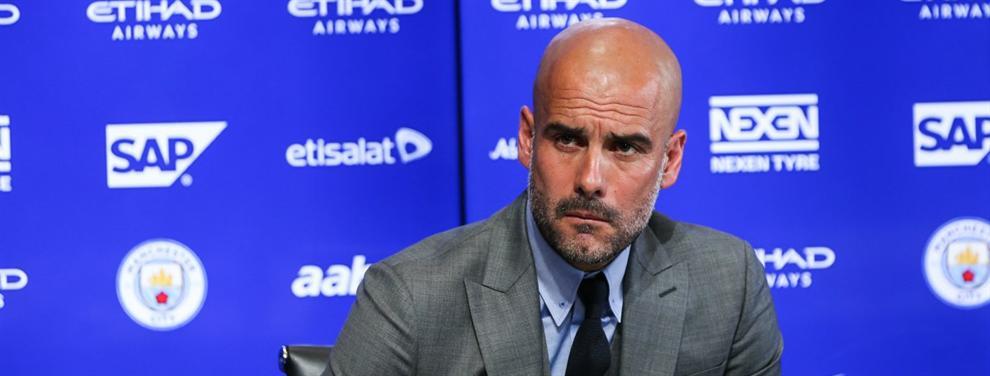 Guardiola ya se gana enemigos en Inglaterra por sus malas maneras