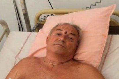 El abuelo que ha perdido una pierna para salvar a sus dos nietos en Niza
