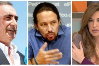 """Herrera defiende a su ex mujer de los ataques de Iglesias: """"Todas las feministas progres, calladas como puertas"""""""