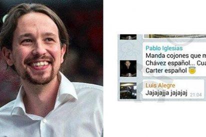"""Iglesias no quiere que le llamen el Chávez español: """"Soy el Carter español"""""""