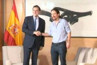 """Así desprecia Pablo Iglesias al director de Tiempo: """"Esa es una pregunta de Metroscopia"""""""