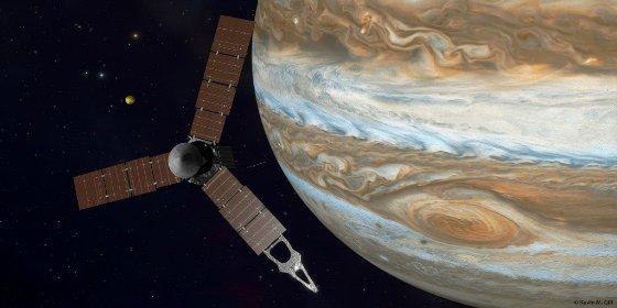 [AUDIO] Los extraños sonidos captados por la sonda Juno al entrar en el monstruoso Júpiter