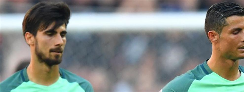 La conversación de André Gomes con Cristiano después de fichar por el Barça