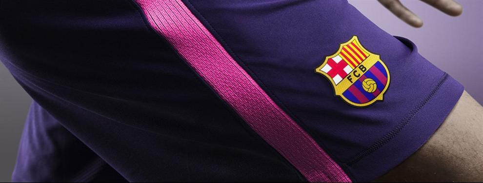 La nueva camiseta suplente que presentó Barcelona te dejará de la cabeza