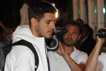 La primera enganchada de Morata en el Madrid es con un peso pesado