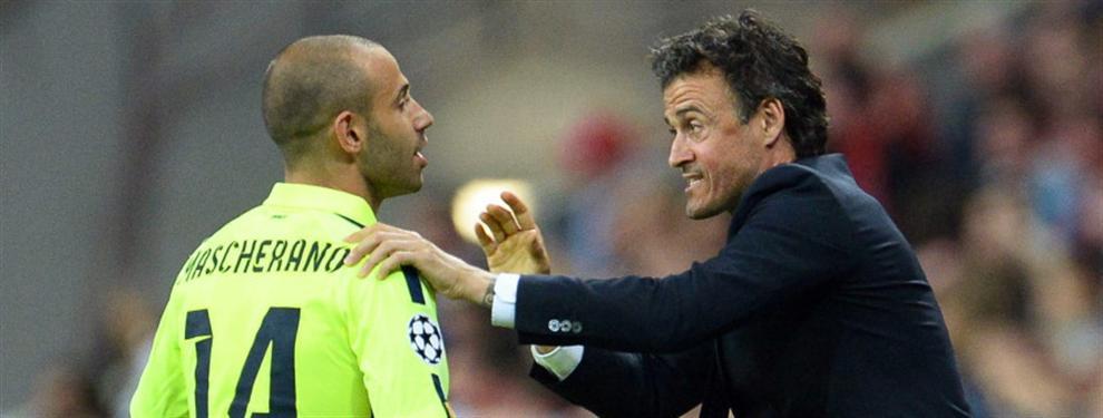 La última oportunidad de Mascherano para abandonar al Barça es esta