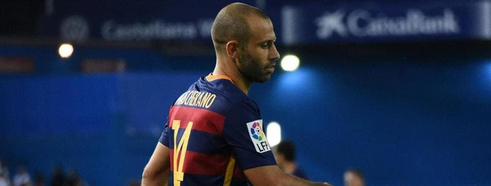 Las exigencias de Mascherano para no dejar tirado al Barça