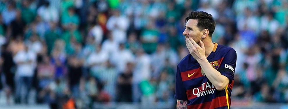 Leo Messi tiene la intención de jugársela al Barça en junio de 2018