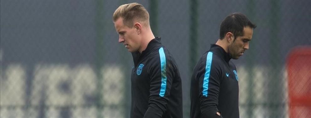 ¡Lío con Claudio Bravo! Los capos del Barça pasan al ataque