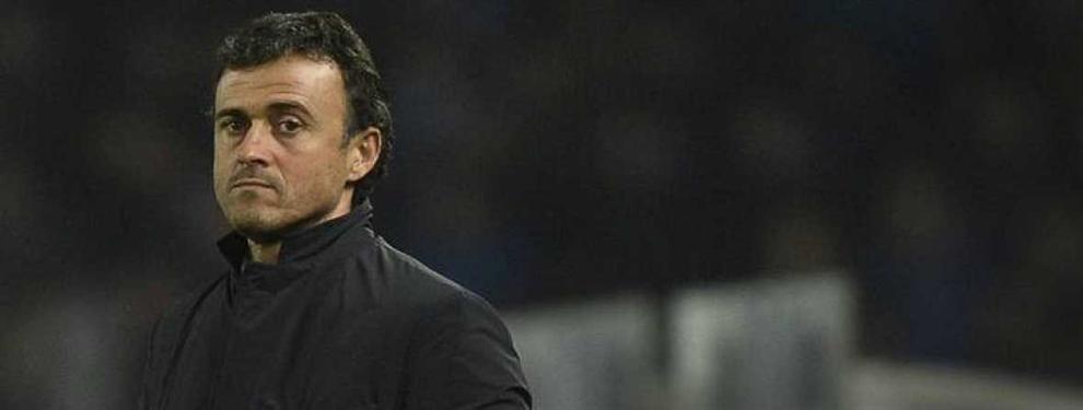 Luis Enrique planea su salida del Barça