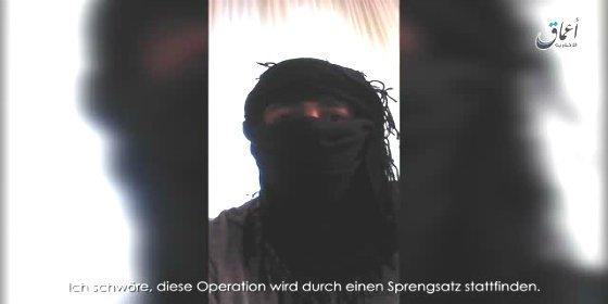 """El macabro vídeo del sirio que se inmoló en Ansbach: """"Es una operación en busca del martirio"""""""
