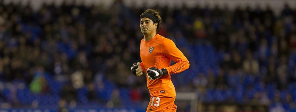 Málaga inicia pretemporada sin Guillermo Ochoa