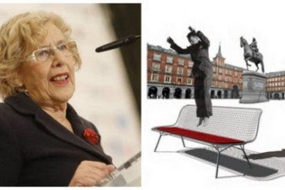 Carmena sigue sin sentar la cabeza y propone llenar Madrid de camas elásticas