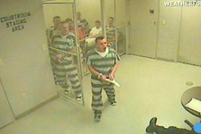 Los 8 prisioneros que escapan de su celda para salvar la vida al guardia