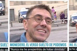 La sorprendente reacción perversa de Monedero cuando le nombran a Errejón