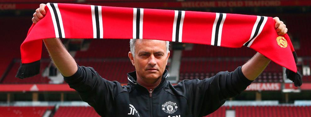 Mourinho se presenta en el United pisando fuerte... y con un dardo al Madrid