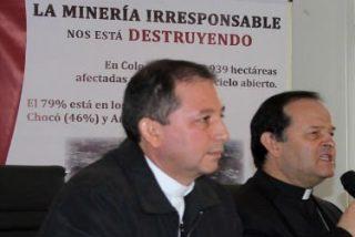 """Obispos colombianos denuncian: """"La minería irresponsable nos está destruyendo"""""""