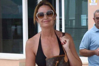 Así rentabiliza los escándalos Olvido Hormigos: bikinis exclusivos y bolsos de 1.500 euros