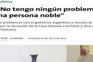 """Francisco sobre los ultraconservadores: """"Ellos hacen su trabajo y yo hago el mío"""""""
