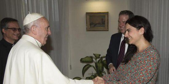 """Una española será la """"voz"""" del Papa Francisco"""