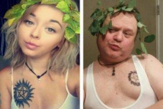 El padre que imita los selfies 'sexys' de su hija para abrirle un poco los ojos