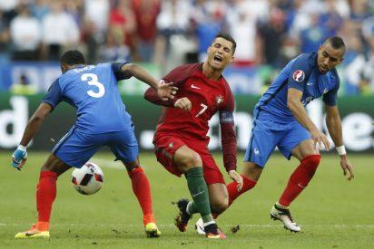 Cristiano Ronaldo sufre un esguince del ligamento lateral interno y se puede perder la Supercopa
