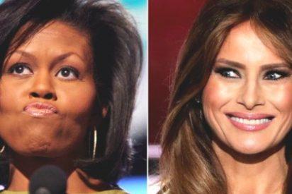 El primer discurso de Melania Trump la pone en última fila: ¡plagió a Michelle Obama!