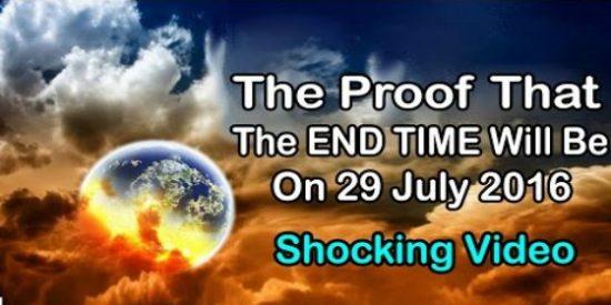El vídeo que te estremecerá: ¡El fin del mundo llega este 29 de julio!