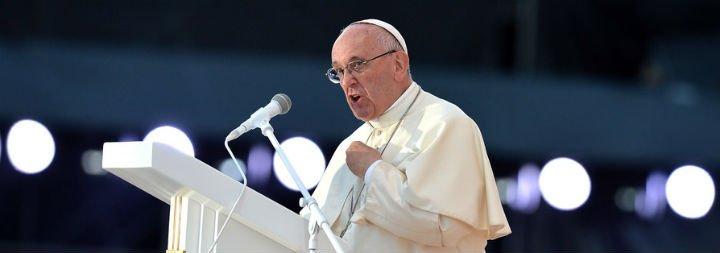"""Francisco, ante 1,6 millones de jóvenes: """"Nuestra respuesta ante un mundo en guerra tiene un nombre, se llama fraternidad"""""""