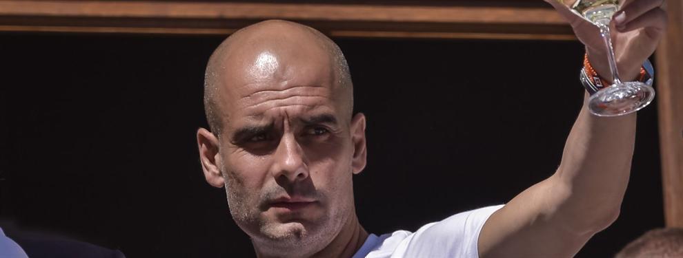 Presentaron a Guardiola en el City como una superestrella y habló de Messi