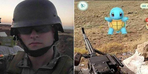 El soldado que juega al Pokémon Go en plena batalla contra ISIS