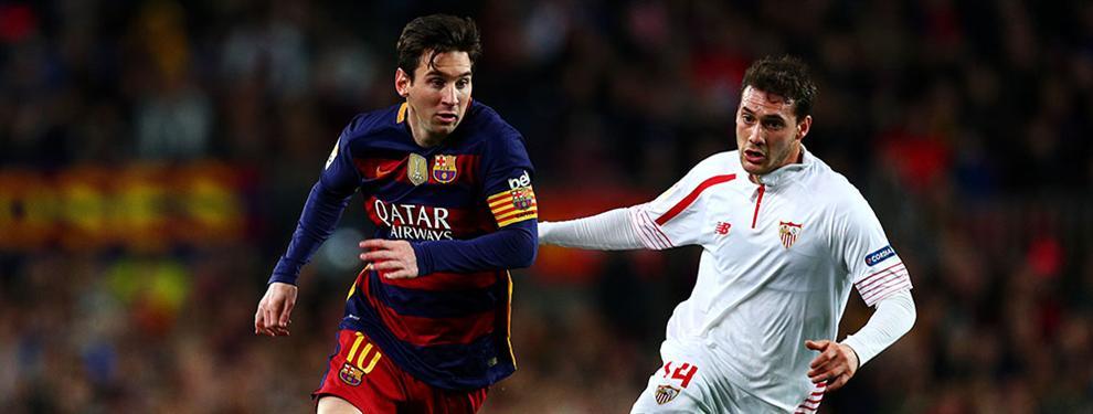 ¡Qué espectáculo! El Sevilla ata al futbolista que regatea tanto como Leo Messi