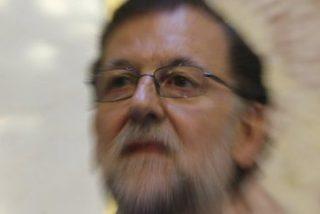 La cara de Rajoy