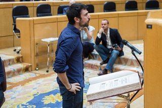Las argucias de Ramón Espinar para mantenerse como senador